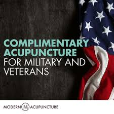 Free Acupuncture Clinic for Veterans